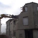 Travaux de démolition
